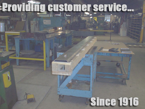 General Sheet Metal Works, Inc. Bridgeport, Connecticut custom metal fabrication